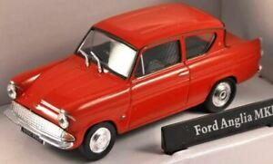 Cararama 1/43 Ford Anglia MKI (Red) (New)