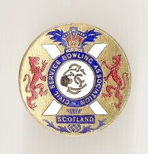 Scottish Civil Service Bowlers Badge