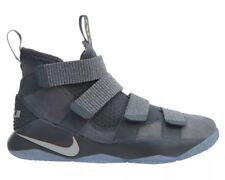 Nike Lebron Soldier XI Mens 897644-010 Cool Grey Basketball Shoes Size 11