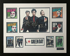 GREENDAY SIGNED LIMITED EDITION FRAMED MEMORABILIA
