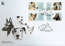 More details for norway dogs stamps 2020 fdc whippet great dane lundehund animals 4v s/a set