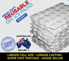 100 x Sheets DRY GEL ICE PACKS (Catering Pack) - Reusable Hydratable Eski Cooler
