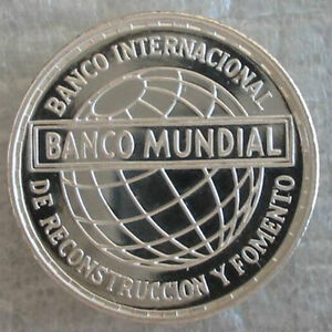 EQUATORIAL GUINEA 25 Pesetas 1970 Silver Proof World Bank