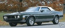 Ford Mustang, Cougar Convertible Top 1971-73