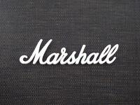 Marshall White Script Logo 4 (225mm)