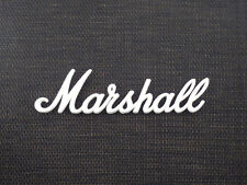 Marshall White Script Logo 4 (225mm) (DO NOT PURCHASE WITHOUT A MODEL OR SERIAL