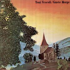 Vescoli Toni, Guete Morge - Swiss Songwriter, CBS 81008 LP