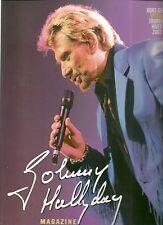 LIVRE - JOHNNY HALLYDAY : MAGAZINE HORS SERIE TOURNEE HIVER 2003 / COMME NEUF