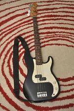 Fender Player Precision Bass Guitar (Black, Maple Fingerboard)