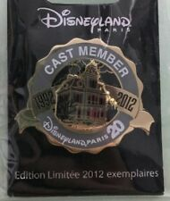 PIN EXCLUSIF CAST MEMBER DISNEYLAND PARIS PHANTOM MANOR 20E - RARE EL 2012 - NEW