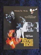 Time and Tide press book  - Nicholas Tse, Wu Bai - 12 pages - (2001)