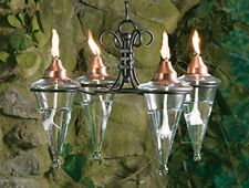GAR248 H Potter Hanging Patio Outdoor Torches Chandelier - Outdoor Lighting