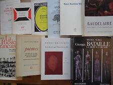 MICHEL SURYA GEORGES BATAILLE LA MORT à L'OEUVRE BIOGRAPHIE 1987