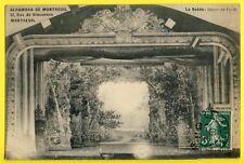 CPA RARE 93 - MONTREUIL La Scène de L' ALHAMBRA décor de Forêt THEATRE CINÉMA
