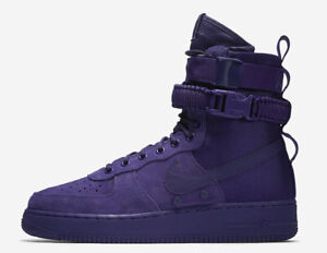 Nike Air Force 1 SF AF1 COURT PURPLE SUEDE 864024-500 Boots Special Field High