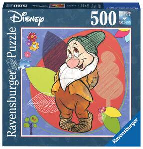 NEW! Ravensburger Disney Snow White and the Seven Dwarfs Bashful 500pc Puzzle