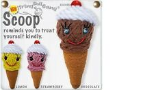 Kamibashi Scoop the Ice Cream Cone The Original String Doll Gang Keychain Clip
