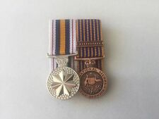 National Police Medal, National Medal, Miniature Size Replica Set.