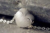 Silberkette mit Anhänger Herz Liebe Halskette Damen 925 Silber Kette Schmuck