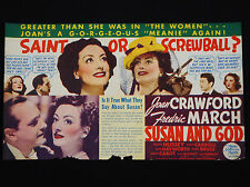 SUSAN AND GOD 1940 * JOAN CRAWFORD * RITA HAYWORTH * FREDRIC MARCH * GORGEOUS!!