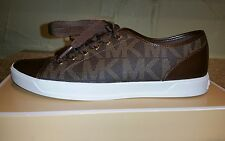 Michael Michael Kors Women's City Sneaker MK Signature Size 8 Black