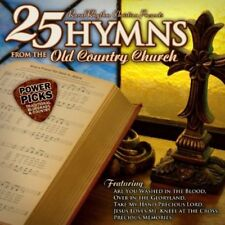 Various Artists - 25 Hymns from the Old Country Church: Power / Various [New CD]