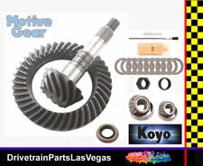 "GM Chevy Pontiac 7.5"" 3.73 Ratio RIng Pinion Gear Set w Install Kit Late Motive"