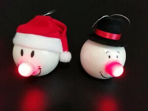 Weihnachtskugel leuchtend LED Blinkfunktion