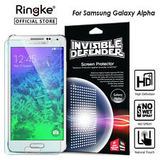 Galaxy Alpha Genuine Ringke Invisible Defender Screen Film Protector for Samsung