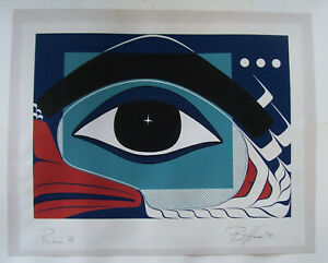 """Vintage Barry Herem 1981 Lithograph~""""Raven""""~Signed and Numbered."""
