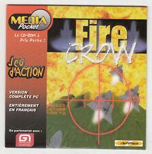 *** Fire Crow *** CDRom PC - Neuf - vintage 1999