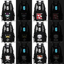 Game Rainbow Six Siege Luminous Backpack Schoolbag Men's laptop bag Travel bag