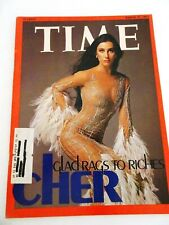 Time Magazine March 17 1975 Cher Glad rags to Riches