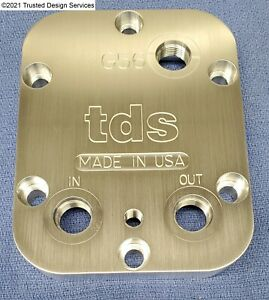 TDS - PTO Cooler Cover, Dodge G56, Correct fluid level, Large Port, 1/8 NPT, USA