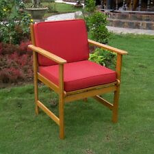 International Caravan Set of 2 Royal Tahiti Gulf Port Arm Chair W/Cushions,