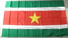 SURINAME INTERNATIONAL COUNTRY POLYESTER FLAG 3 X 5 FEET