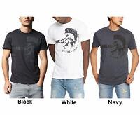 DIESEL T ULEE  Mens T-Shirt Short Sleeve Crew Neck Cotton Summer Casual Outwear