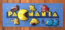 Original Pacmania Arcade Marquee Header Pacman Namco Atari 1987 Replacement