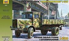 Zvezda 1/35 Modelo Kit 3647 alemán camiones pesados L-4500S einheitskabine