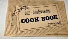 Otter Tail Power Co. Anniversary Cookbook 60 Years of Service Recipe Booklet