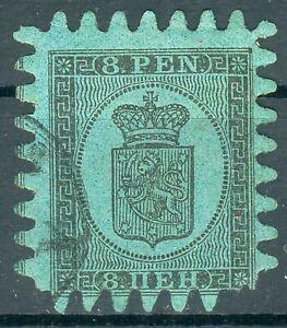 Suomi 1867 Mi.6 Cx gestempelt -geprüft mit Kurzbefund Schwenson BPP