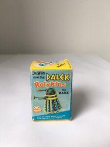 ORIGINAL 1965  LOUIS MARX Doctor Who Silver DALEK ROLYKIN complete - BOXED