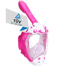 Schnorchelmaske Kinder Vollmaske Tauchermaske Tauchmaske Taucherbrille Khroom
