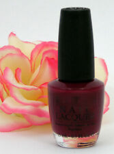Opi Nail Polish Lacquer All Lacquered Up .5 oz Chardonney Red Wine Burgundy 25th