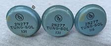 Vintage Tung-Sol 2N277 Blue Transistor (NOS)