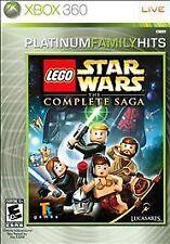 LEGO Star Wars: The Complete Saga -- Platinum Family Hits (Microsoft Xbox 360...