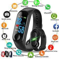 Smart Band Smart Wrist Watch Sport Fitness Trackers Blood Pressure Heart Rate AU