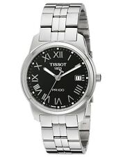 Tissot PR 100 SWISS Quartz Black Dial Stainless Steel Men's Watch T0494101105301