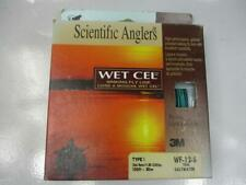 Scientific Anglers Wet Cel Sinking Fly Line Type 1 100 ft Wf-12-S Teal Nos A25