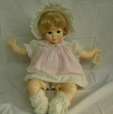 """Vintage Suzanne Gibson Cloth / Vinyl 21"""" Gibson Babies Doll 1977"""